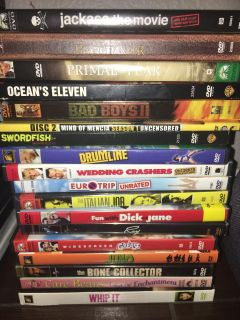 2 for $1 or $1 Each DVD s