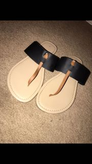 Size 7 Sandals. Like new.
