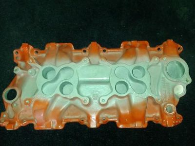 Find Gm small block 2X4 INTAKE MANIFOLD motorcycle in Garland, Texas, US, for US $150.00