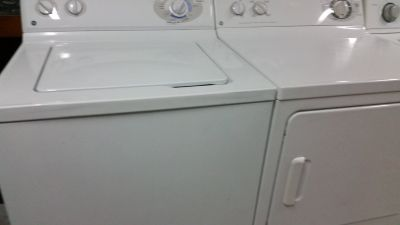 GE WASHER & DRYER SET . . 30DAY WARRANTY . . FREE LOCAL DELIVERY . . 910 550 4038