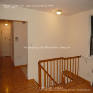 Upper West Side - 1 bedroom Duplex With Private Garden