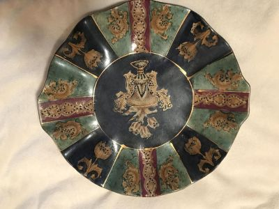 India Vintage Ceramic Plate need GONE ASAP