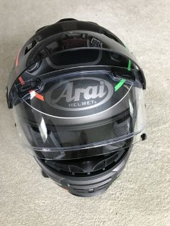 Arai Motorcycle Helmet Sz M Excellent Condition