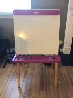 P kolino Children s Wooden Two Sided Art Easel PPU Wyngate Estates Spring Hill $10