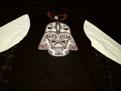 Star Wars Darth Vader sugar skull sweater