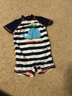 6-9 months swim outfit