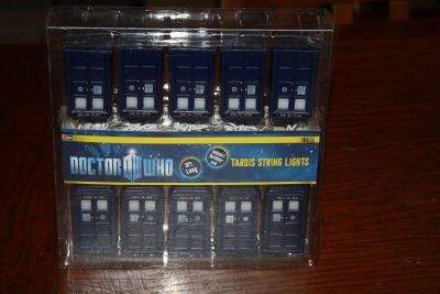 Doctor Who Tardis String Indoor Outdoor Party Patio Lights BBC New