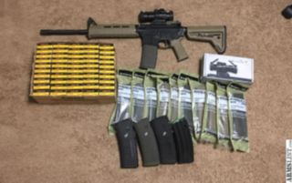 For Sale: Colt LE6920 w/ optic, ammo, and mags