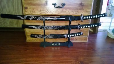 4piece sword set