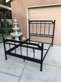 Very Nice Iron Full Size Bed Frame