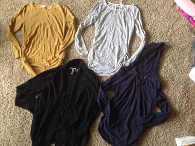 Size medium maternity lot all for $10