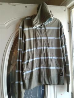 Men's Hurley thin zipped hooded sweater Small