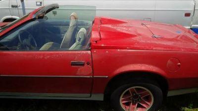 1983 Chevrolet Camaro Z28 Roadster