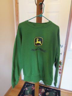 John Deere Crew Sweatshirt NWT~Reduced