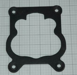 """Find 1971 73 CARB TO INTAKE 1/4"""" BASE PLATE GASKET GM CHEVROLET ROCHESTER Q-JET NEW motorcycle in Justice, Illinois, United States, for US $9.75"""