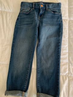 Old Navy cropped jeans, size 10
