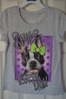 Girls Justice Pug Graphic Tee Size 6