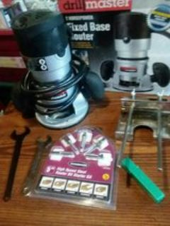2 hp fixed base router Drill master