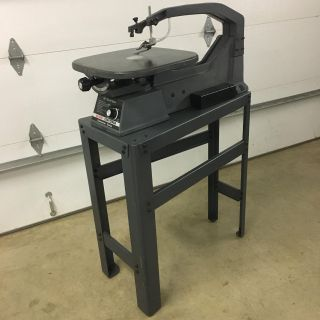 SEARS/CRAFTSMAN 20 SCROLL SAW CONTRACTOR SERIES.