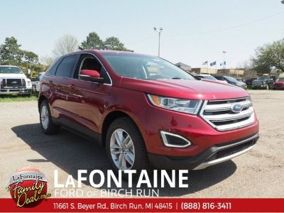 2018 Ford Edge SEL (Ruby Red)