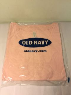 NWT Old Navy Baby doll pink shirt size extra large.
