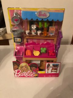 New Barbie grocery stand