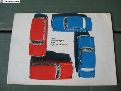Type 3 German sales brochure 1964