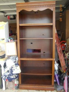 7-8 ft book shelf/entertainment center