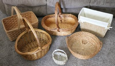 Nice Baskets - 6 various sizes / prices