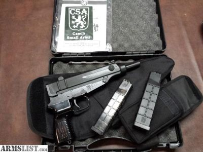 For Sale: VZ 61 Skorpion 9x18