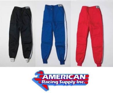 Find G-Force Racing GF505 3 Layer Pants Black, Red or Blue SFI 3.2/A5 motorcycle in Las Vegas, Nevada, United States, for US $144.99
