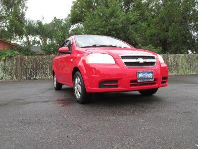 2007 Chevrolet Aveo LS (Red)