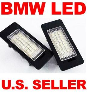Sell BMW LICENSE PLATE LED LAMP ERROR FREE DIRECT FIT E90/E91 E92 E93 3series 335is motorcycle in Garden Grove, California, US, for US $29.99