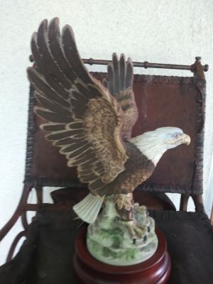 Collectible bald eagle numbered Mint Condition perfect for Father's Day pick up in Sachse or Allen