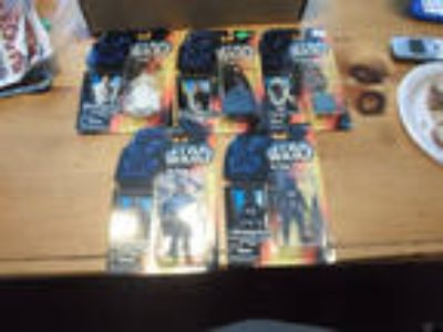 Star Wars POTF Lot of 5 Red Cards MOC Kenner - Princess