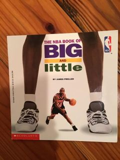 The NBA Book of Big and Little Paperback