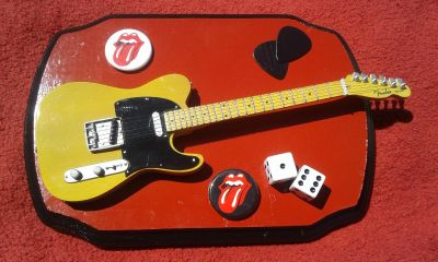 The Rolling Stones Fender Telecaster Guitar Plaque