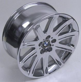 "Purchase 19"" BMW 745i CHROME Factory wheel RIM OEM rear 750i 760i H# 59399 motorcycle in Fountain Valley, California, US, for US $445.00"