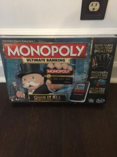 Monopoly Ultimate Banking NEW Gift $10 Gtown PPU
