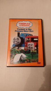 Thomas & Friends Thomas & His Friends Help Out DVD. Great condition