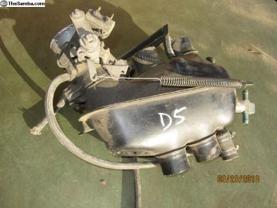bay window bus throttle body/plenum D5