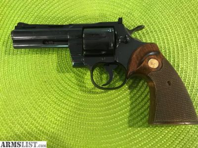 For Sale: COLT PYTHON 1963 ***LAST 3 numbers in the serial is 357 Very cool!!!
