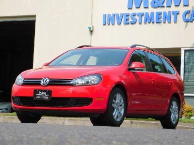 2012 Volkswagen Jetta SportWagen TDI (Tornado Red)