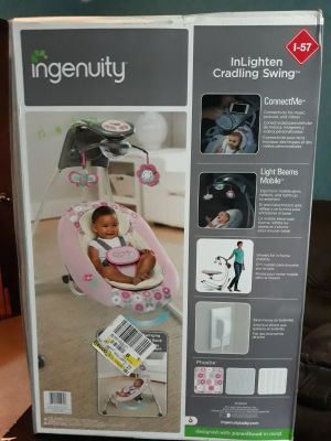 Ingenuity inlighten cradle swing