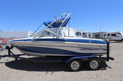 2006 Tahoe Q6 wake and ski boat