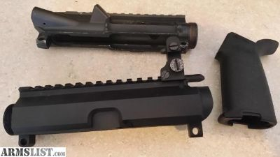 For Sale: 2 AR 15 uppers and a magpul grip