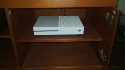 Xbox One S edition in mint condition with 2TB drive 2 games
