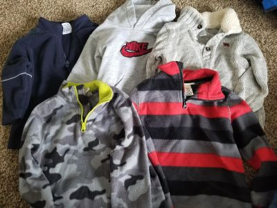 3T pull over jackets