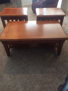 Nice Coffee and End Tables PRICE REDUCED