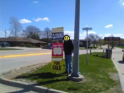Sign Holder $12HR Waukon, IA